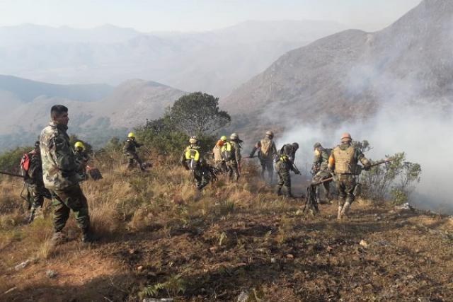 Resultado de imagen para rodrigo paz incendio en sama
